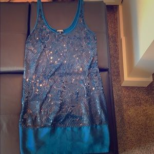 Express Sequined Dress 👗 Perfect for Day or Night